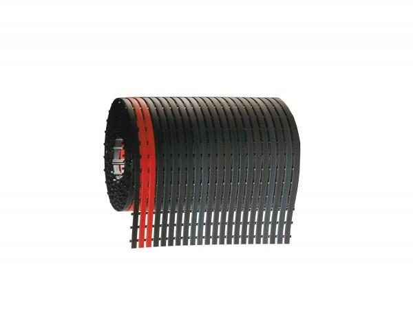 Stiefelmatten Rolle L 5 m schwarz, Mattenbreite 600 mm
