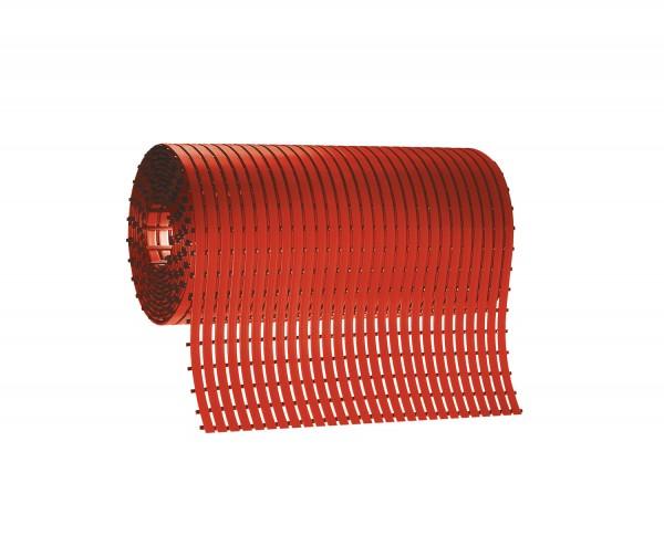Stiefelmatten Rolle L 5 m rot, Mattenbreite 800 mm
